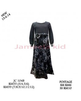 Jameela Kids Jubah JC104B